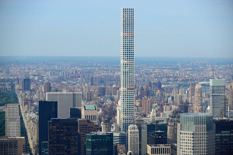 Manhattan New York met 432 Park Avenue van Merijn van der Vliet