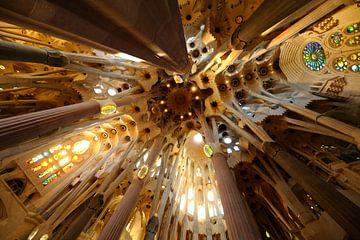 De Sagrada Familia in Barcelona (1) von Merijn van der Vliet
