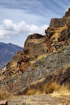 Die Ruinen von Pisac in Peru von Yvonne Smits