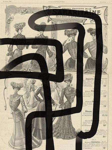 Abstract Papier I van YOPIE illustraties