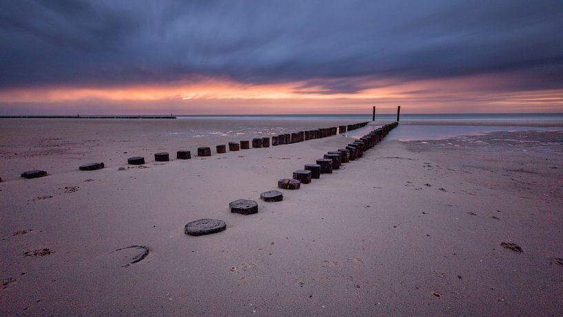 Dutch coast van Richard Driessen