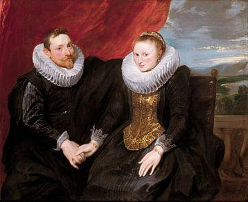Un couple marié, Anthony van Dyck