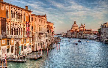 De Canal Grande in Venetië van Jan Kranendonk