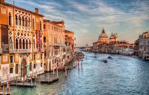 De Canal Grande in Venetië