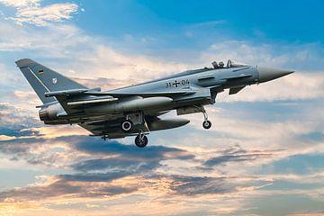 Eurofighter Typhoon 4 van Gert Hilbink