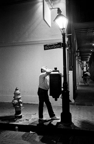 New Orleans - Bourbon Street van Raoul Suermondt