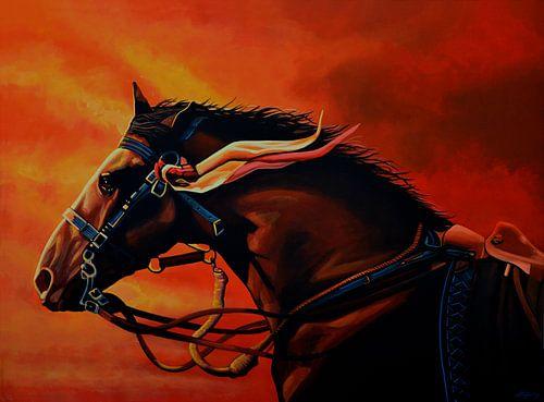 War Horse Joey schilderij