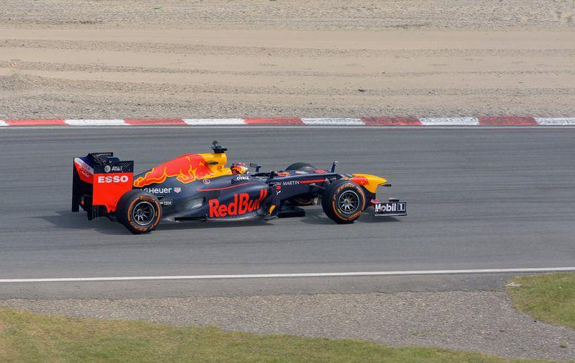 Max Verstappen en action à Zandvoort sur Remco Van Daalen