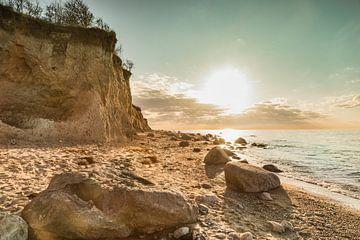 Klif van de Oostzee van Ursula Reins