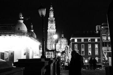 Antwerpen - Avondbeeld van Maurice Weststrate