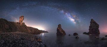 Zee van sterrenstelsels, Juan Facal Fotografie van 1x