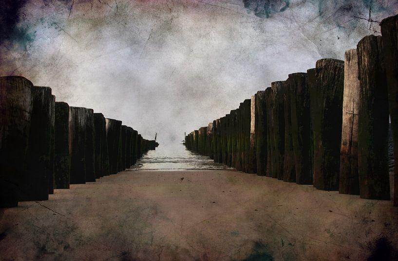 clouds van Yvonne Blokland