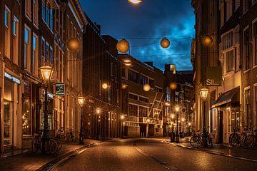 Leiden in Lockdown: Breestraat von Carla Matthee