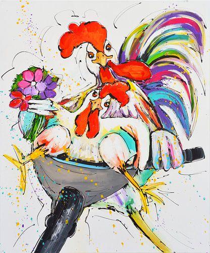 Funny chickens von Love Liz