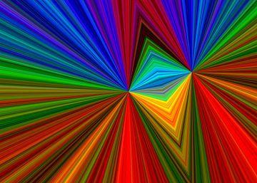 Farbenrausch von Gabi Siebenhühner