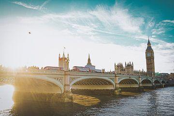 Sonnenuntergang in London, England von Daphne Groeneveld