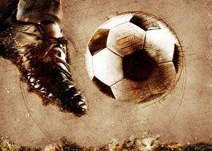 Fußballspieler Sport Kunst #Fußball #Fußball