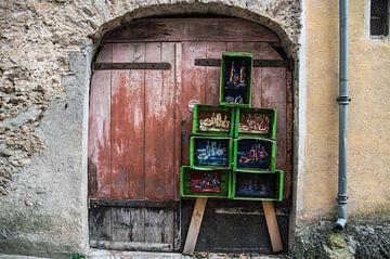 Rode deur van Jasper Los