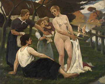 Die Oase, Eugène Laermans von