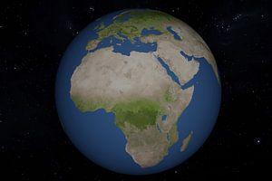 3D Render vom Planeten Erde von Tom Voelz