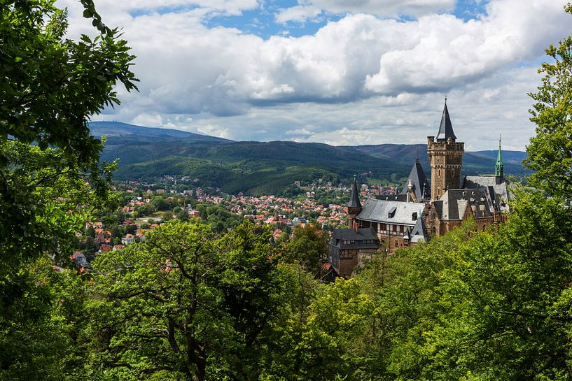 Wernigerode et son château sur Frank Herrmann