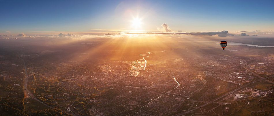 Amersfoort uit de lucht van Sander Wustefeld