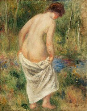 Renoir, Nach dem Bad (1901) von Atelier Liesjes