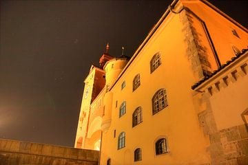 Stadstoren Regensburg bij nacht van Roith Fotografie