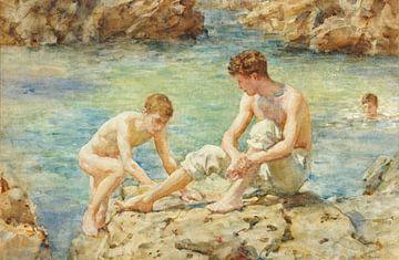 Die Badenden, Henry Scott Tuke
