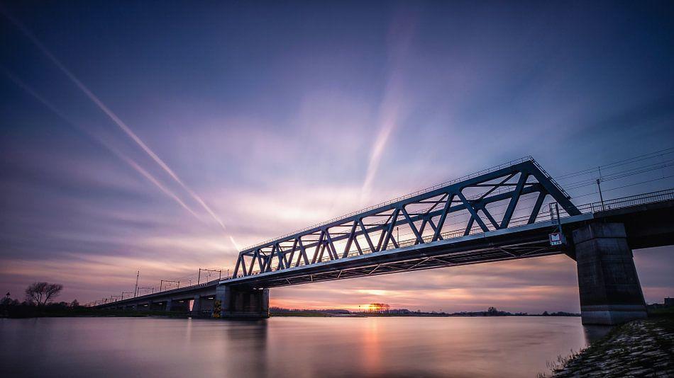 Spoorbrug Deventer van Remco Lefers