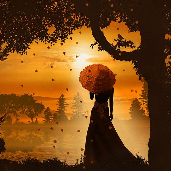 In de romantische licht