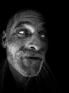 Black & White Portrait van Pieter Smeitink