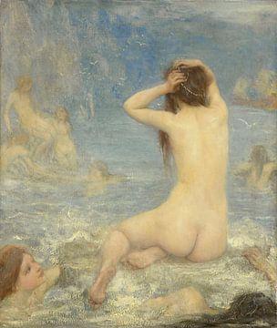 Die Sirenen, John Macallan Swan, 1870 - 1910Die Sirenen, John Macallan Swan