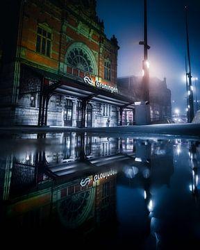 Groningen Station van Harmen van der Vaart