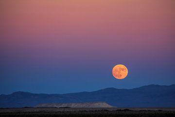 Mond über Nevada von Yvonne Smits