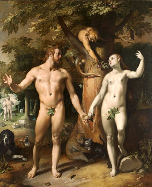 Cornelis Cornelisz. van Haarlem. De zondeval