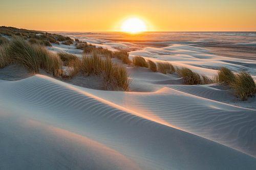 Zonsondergang strand Ameland - Natuurlijk Ameland