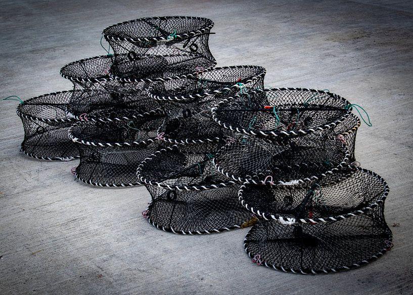 Kreeftenfuiken (stilleven) van Marlies Gerritsen