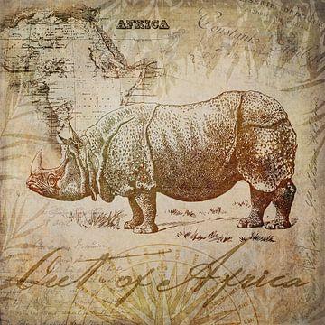 Vintage Nashorn von