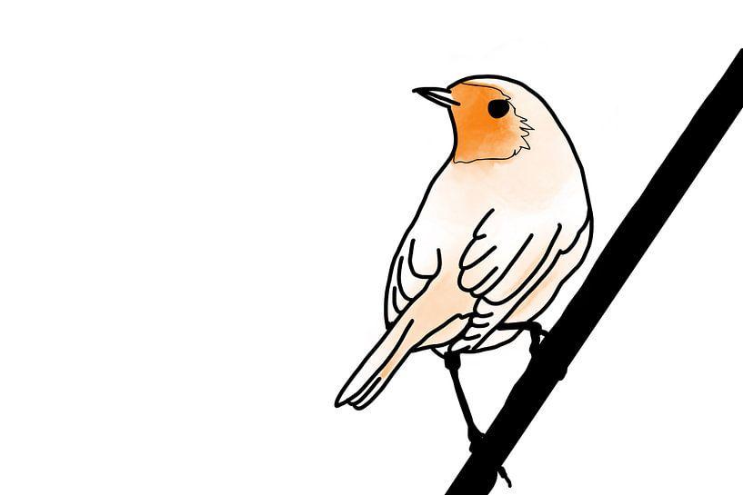 Robin sur MishMash van Heukelom