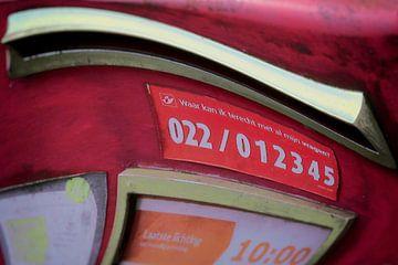 Zatte postbus van Studio Kunsthart