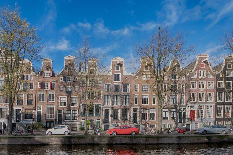 Prinsengracht Amsterdam van Foto Amsterdam/ Peter Bartelings