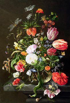 Stilleven met bloemen, Jan Davisz. de Heem