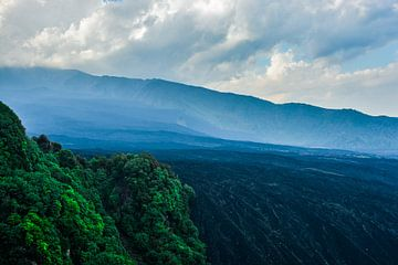 Vulkanische velden op de Etna van Ilse Fokker
