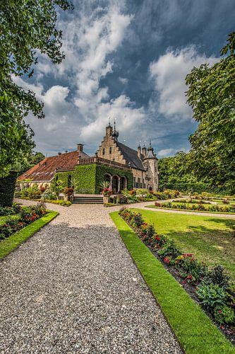 """Het historische kasteeltje """"Het Poptaslot"""" te Marssum von Harrie Muis"""