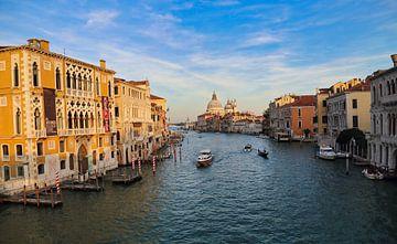Canal Grande in Venetië van Jan Kranendonk