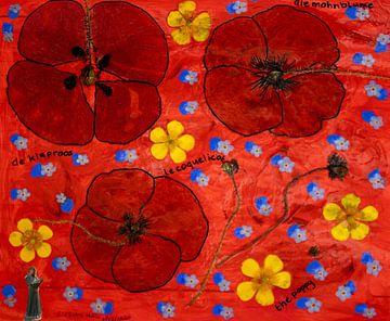 Die Mohnblume von Susan Hol