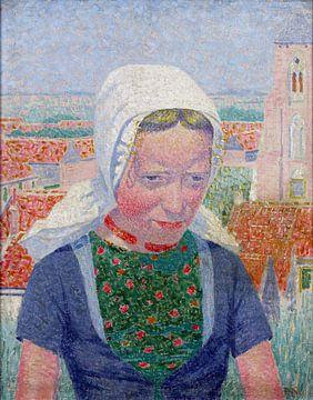 Zeeland-Mädchen, 1914 von Atelier Liesjes