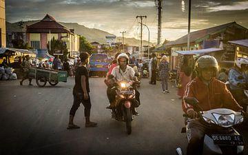 Ambon - Straatleven van Maurice Weststrate