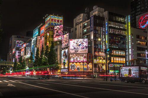 Akihabara, Tokyo by night